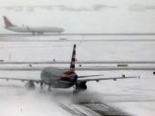 В США из-за снегопадов отменили более 700 рейсов