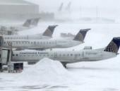 В США из-за непогоды задержали более 1300 авиарейсов
