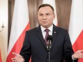 Президент Польши отреагировал на обмен мнениями относительно заявлений Путина