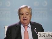Генсек ООН призвал прекратить боевые действия на северо-западе Сирии