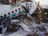 Количество погибших в результате падения самолета в Казахстане возросло