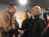 Сенцов посетил Латвию по приглашению латвийской стороны