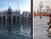 Венецию снова затопило