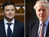 Зеленский поздравил Бориса Джонсона с победой на выборах в Британии