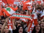 Во время протестов в Бейруте пострадали более 50 человек