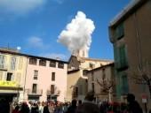 В Барселоне 14 человек пострадали в результате взрыва в церкви