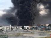 Возле Барселоны произошел пожар на химическом заводе, есть раненые