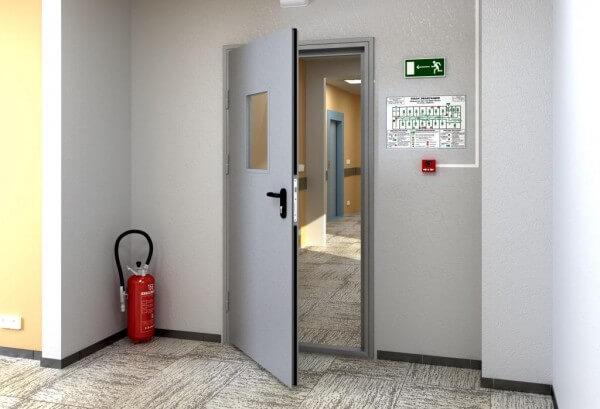 Качественные противопожарные двери от производителя