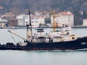 Боевой российский корабль