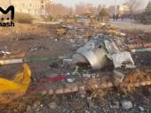 СМИ: черные ящики разбившегося в Иране украинского самолета найдены
