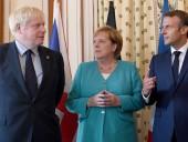Меркель, Макрон и Джонсон призвали Ирак обеспечить поддержку антитеррористической коалиции