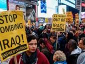 В нескольких городах США прошли демонстрации против войны с Ираном
