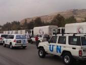 ООН отправила в Сирию гуманитарный караван