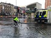 В Лондоне затопило станцию метро