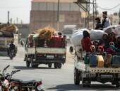 За сутки почти 40 тысяч сирийцев стали беженцами из-за обстрелов