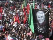 Количество погибших в давке на похоронах иранского генерала возросло до 56
