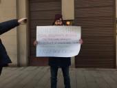 В Москве прошли первые протесты против изменений в Конституцию России