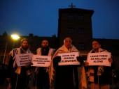 В Биркенау раввины устроили протест против католической церкви