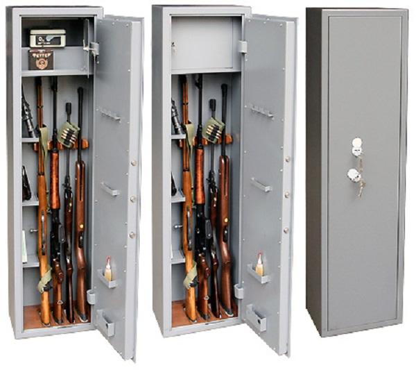 Сейфы и шкафы для безопасного хранения оружия