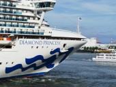 В Японии у 10 человек на круизном лайнере обнаружили коронавирус