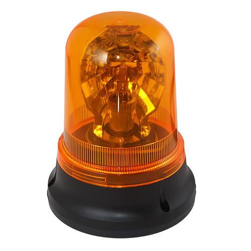 Предупредительный проблесковый маячок оранжевого цвета