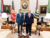 Трамп в Белом доме впервые встретился с Гуайдо