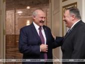 Лукашенко встретил Помпео шуткой о диктатуре в Беларуси