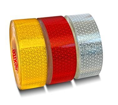 Прочная и эластичная светоотражающая лента разного цвета