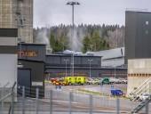 В Швеции произошел пожар на шахте, 130 человек эвакуировали