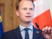 Глава МИД Дании сегодня приедет на Донбасс