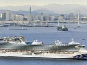 Из-за коронавируса в Японии на карантин поместили круизный лайнер