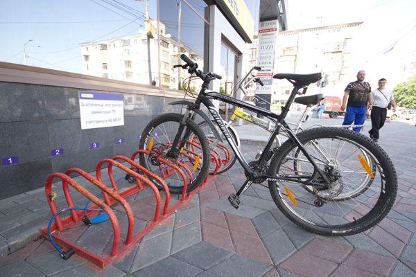 Парковка для велосипеда на 8 мест