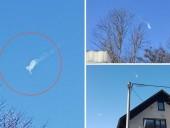 В небе над Хорватией взорвался метеорит