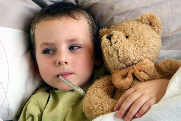 Как действовать, если у ребенка от 5-и лет появилась лихорадка