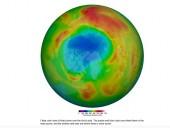 Озоновая дыра рекордных размеров появилась над Арктикой