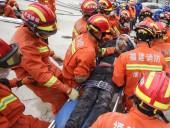 Из-за обрушения отеля в Китае погибли 6 человек и около 30 находятся под завалами
