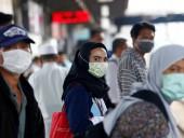 Количество инфицированных COVID-19 в Индонезии возросло до 117