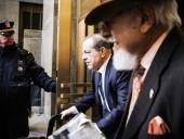 Осужденный за домогательства Вайнштейн заразился в тюрьме коронавирусом