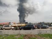 В Нигерии на участке нефтепровода произошел взрыв