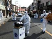 Эпидемия коронавируса: количество инфицированных COVID-19 в Южной Корее возросло до 3736, 18 человек - погибли