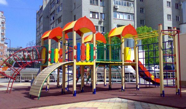 Проектирование и производство детских игровых площадок