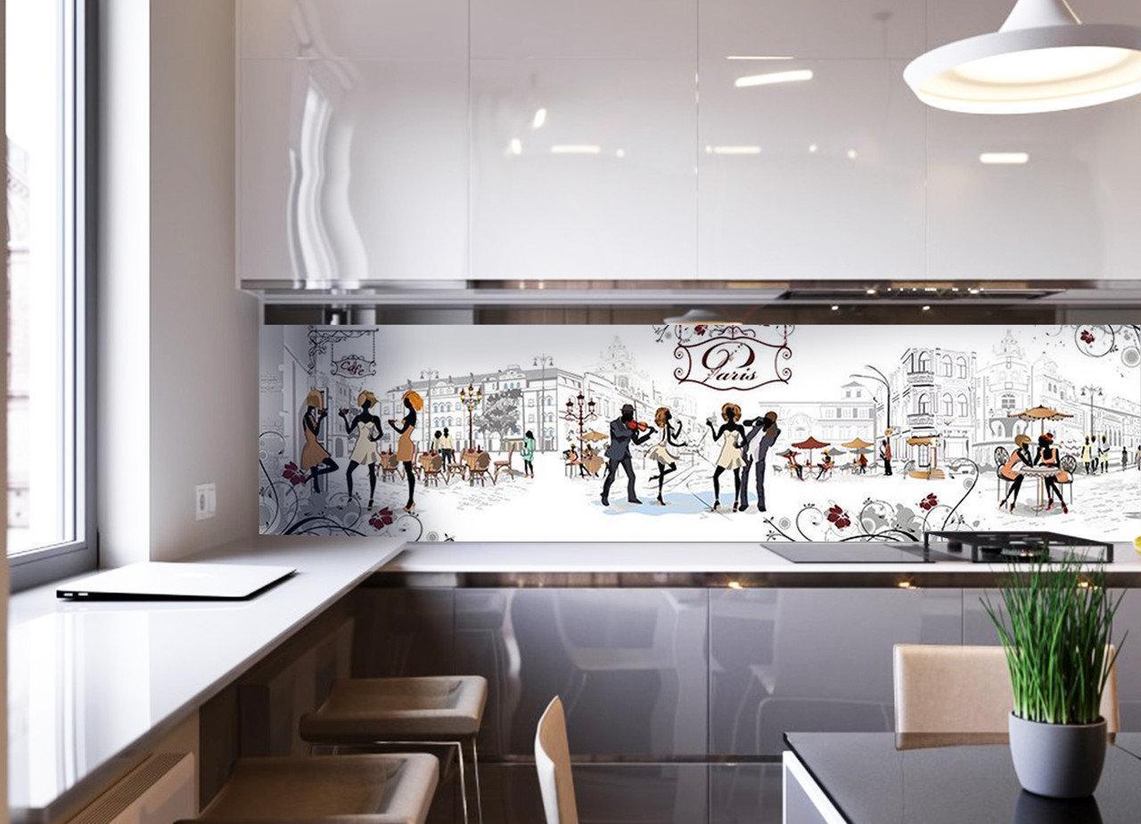 Фартуки и из стекла для вашей кухни