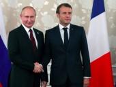 Макрон хочет убедить Путина прекратить ведение огня в вооруженных конфликтах на время пандемии