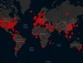 Количество инфицированных коронавирусом в мире превысило 1,5 млн, почти треть - в США