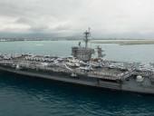Из-за вспышки коронавируса с авианосца ВМС США эвакуируют почти три тысячи моряков