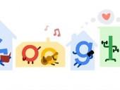 Google запустил дудл-марафон для тех, кто скучает на самоизоляции