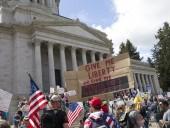 СМИ назвали организаторов акций протеста в США против самоизоляции
