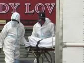 Пандемия коронавируса: в Нью-Йорке обнаружили несколько грузовиков с десятками трупов