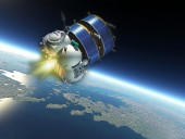 В космосе взорвался бак российского разгонного блока