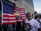 В США проходят массовые протесты из-за гибели афроамериканца